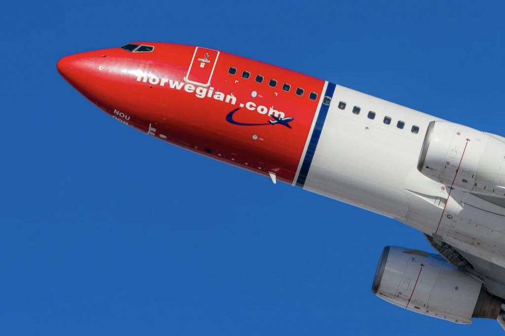 Norwegian tackar för statligt stöd